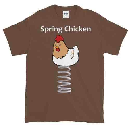 Spring Chicken T-Shirt (chestnut)