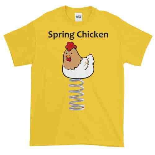 Spring Chicken T-Shirt (daisy)