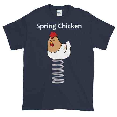 Spring Chicken T-Shirt (navy)