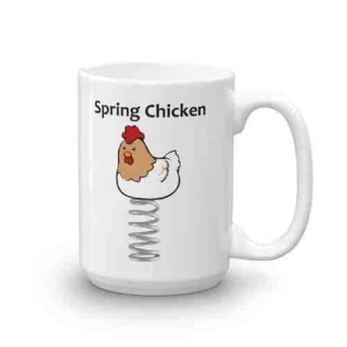 Spring Chicken Mug - 15 right