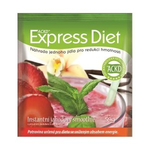 Express Diet Jahodový smoothie 59g