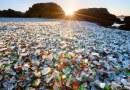Szklana Plaża w Fort Bragg w Kalifornii