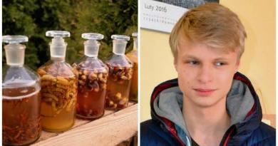 Nastolatek tworzy kremy i szampony z produktów znalezionych w lesie