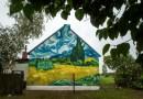Wielka sztuka we wsi Brzózki. Murale inspirowane twórczością Van Gogha