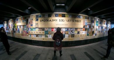 Największy mural ceramiczny w Polsce odsłonięto we Wrocławiu