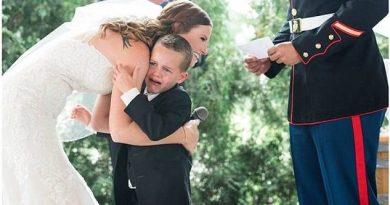 Wzruszająca wypowiedź przybranej matki 4-letniego chłopca, podczas ślubu