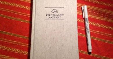 Pięć minut dziennie dla wdzięczności – The Five-Minute Journal