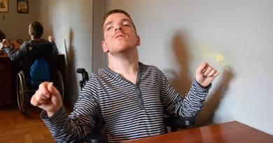 Niepełnosprawny 18-latek z Żurawicy chce pomagać Polakom mieszkającym na Ukrainie