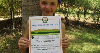 Najmłodsza Polka, która zdobyła szczyt Kilimandżaro