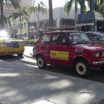 Polak zaparkował Malucha na najbogatszej ulicy świata, oto reakcja ludzi