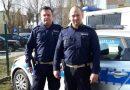 Policjanci z Pleszewa eskortowali rodziców niemowlaka pędzących do szpitala