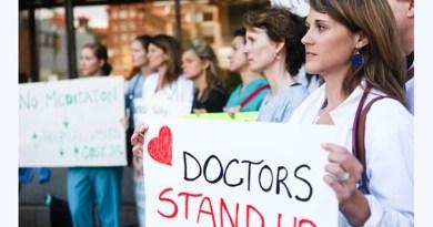 Lekarze z Kanady protestują przeciwko podwyżkom własnych pensji