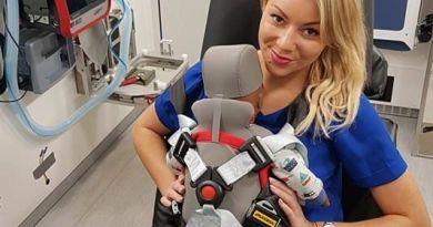 System, który umożliwia bezpieczny transport niemowlęcia w karetce działa w Poznaniu