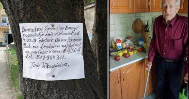 Internauci pomogli samotnemu, 78-letniemu emerytowi znaleźć mieszkanie