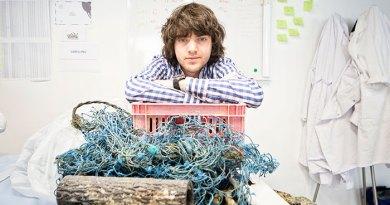 23-letni Boyan Slat wie jak walczyć z Wielką Oceaniczną Plamą Śmieci!