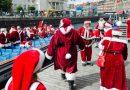 Kopenhagę zalała fala Świętych Mikołajów