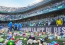 Wartościowa akcja Realu Betis, tysiące maskotek znalazło się na murawie