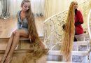 """33-letnia """"Roszpunka"""". Swoje włosy obcinała ostatnio 28 lat temu"""