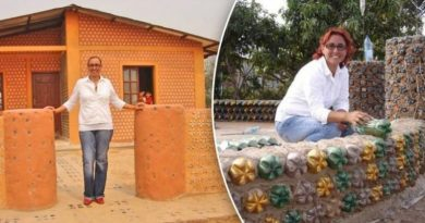 Kobieta z Boliwii buduje setki domów dla ubogich, używając plastikowych butelek