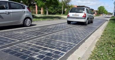 Pierwsza w Niemczech fotowoltaiczna droga produkuje prąd!