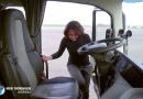 W Niemczech kursanci kat. B pewnej szkoły nauki jazdy są sadzani za kierownicą 14 tonowej ciężarówki. Nie bez przyczyny