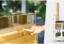 Powstał łatwy do złożenia zestaw do hodowli pszczół w ogródku czy na balkonie