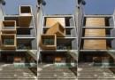 """Modernistyczny dom posiada ruchome pokoje, które """"ożywają"""" po naciśnięciu jednego przycisku"""