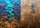Rzeka w kształcie SMOKA. Widzieliście takie cudo natury? Jest w Europie