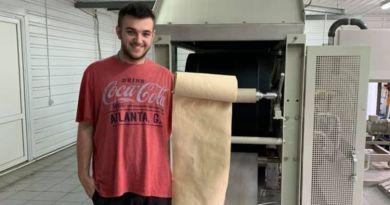 Na Ukrainie zostanie uruchomiona linia do produkcji papieru z opadłych liści