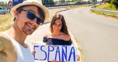 Zakochani bez pieniędzy zwiedzili 7 krajów