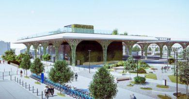 zielony dworzec