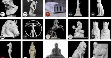 Muzea i galerie udostępniły za darmo swoje rzeźby