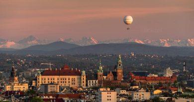Tatry widoczne z Krakowa