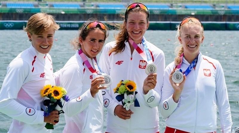 Polska z pierwszym medalem