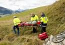 Tatry. Spadł ponad 40 metrów i przeżył…