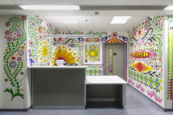 artists mural design royal london children hospital vital arts 1