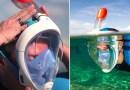 Maska do nurkowania umożliwiająca normalne oddychanie