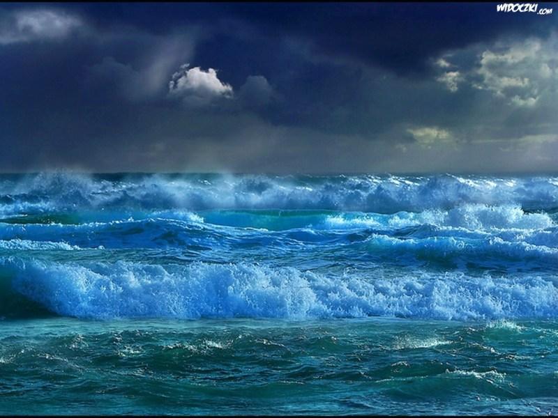 woda morze fale