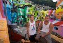 Dzielnice nędzy Rio zamienione na mieniące się kolorami obrazy