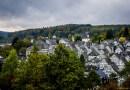 Urokliwe miasteczko z muru pruskiego