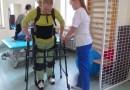 Na Politechnice Krakowskiej zaprojektowano egzoszkielet umożliwiający niepełnosprawnym poruszanie się w pozycji pionowej