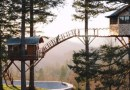 Mężczyzna wybudował na drzewie domek, który jest spełnieniem dziecięcych marzeń