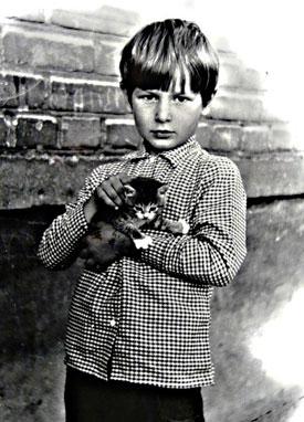 История №21: «Мальчик и хромой котенок»