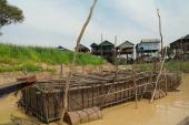Kampong Khleang wioska na palach (6)