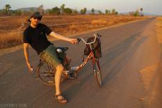 Rowerami po Don Khong