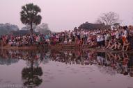 Wschod slonca w Angkor Wat (2)