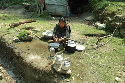 Codzienne zycie mieszkancow Nepalu (2)