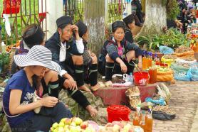 Gorskie plemiona zamieszkujace okolice Sapa Wietnam (3)