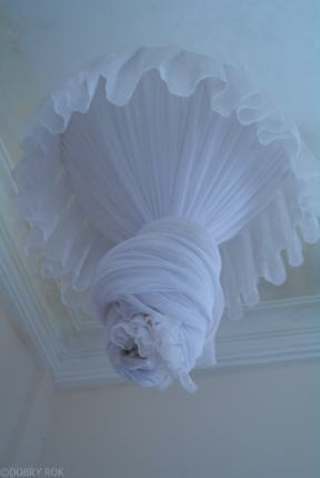 Meduza moskitiera w hotelu