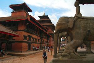 Patan i okolice Durbar Square (17)